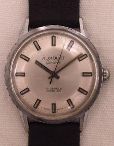 【送料無料】腕時計 ウォッチ ジャケジュネーブヴィンテージr jaquet geneve reloj de hombre reloj pulsera vintage 60 aos