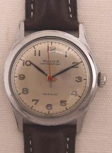 【送料無料】腕時計 ウォッチ ビンテージdulux reloj de hombre reloj pulsera vintage 50 aos