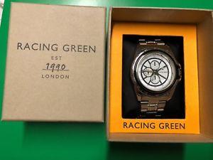 【送料無料】腕時計 ウォッチ レーシンググリーンタキメーターウォッチracing green taqumetro 350 reloj nuevo