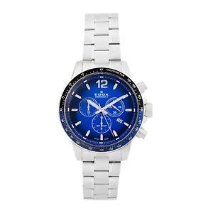 【送料無料】腕時計 ウォッチ クロノグラフスイスボックスedox hombres chronorally s suizo reloj crongrafo f1 tapa de la caja 10229 3nbum
