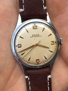 腕時計 ウォッチ アラームドクサスイスビンテージ1950s reloj doxa swiss hombre vintage vestido 34,9mm