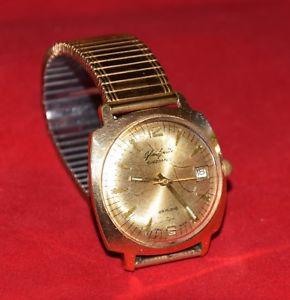 【送料無料】腕時計 ウォッチ gub vidriera spezimatic 26 rubis 20 goldplaque kal75 fecha corre impecable