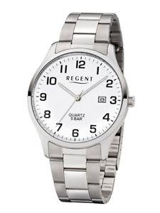【送料無料】腕時計 ウォッチ リージェントアラームシルバーステンレススチールアナログregent reloj hombre f1178 analgico plata de acero inoxidable