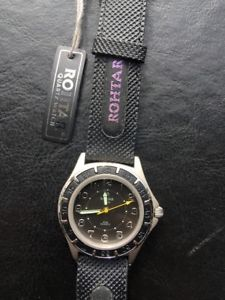 【送料無料】腕時計 ウォッチ クオーツアラームウォッチビンテージnos rohtar quartz reloj watch vintage hombre