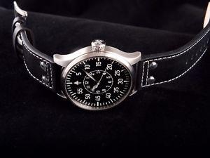 腕時計 ウォッチ グランデオートパイロットカードbuhr grande piloto typ b auto 50mm,edicin limitada, nuevo  garanta tarjeta
