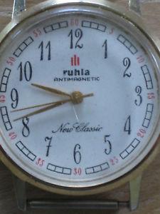 【送料無料】腕時計 ウォッチ ニュークラシックレディースruhla, classic seores reloj de pulsera, exclusivamente, 70er aos