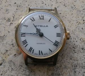 【送料無料】腕時計 ウォッチ ビンテージvintage nitella fhf st 97 working good condition
