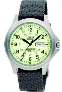【送料無料】腕時計 ウォッチ クロックlorus lumibrite militar relojrj655ax9