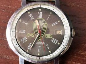 【送料無料】腕時計 ウォッチ アラームвостокソソビエトsoviet reloj wostok восток aniversario 40 aos de la victoria en la guerra urss