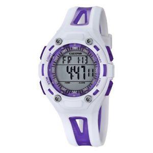 【送料無料】腕時計 ウォッチ ライラックカリプソクロックreloj calypso k56662 para mujer en color blanco y lila sumergible