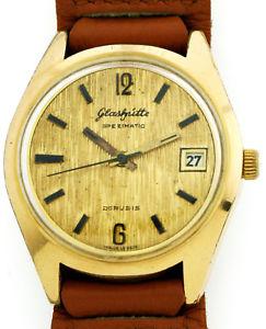 【送料無料】腕時計 ウォッチ ビンテージハウgub vidriera spezimatic kal 75 vintage hau goldplaque rda ostalgie borkenoptik