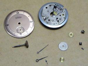 腕時計 ウォッチ ローマーブランドナイツアラームムーブメントキャリバーroamer caballeros reloj movimiento, calibre 317 mst, puede ser incompleta, desmontado