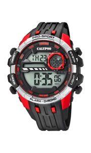 【送料無料】腕時計 ウォッチ カリプソクロノブラックレッドバッテリーcalypso watches chrono k57294 negro rojo nuevo 1 batera extra