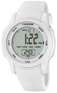 【送料無料】腕時計 ウォッチ カリプソデジタルクロッククロノブレスレットcalypso k5698 reloj hombre chrono digital con pupulsera