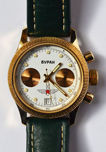 クロノグラフpoljot 【送料無料】腕時計 pulsera laco chronograph ウォッチ exclusivamente buran pilotenuhr reloj aviator