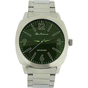 【送料無料】腕時計 ウォッチ ベンシャーマンマングリーンアナログフィールドシルバーben sherman hombre analgico verde esfera color plata reloj de pulsera r904