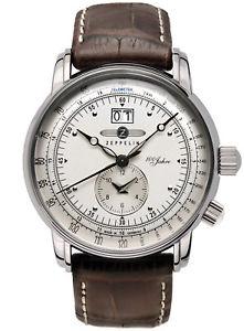 【送料無料】腕時計 ウォッチ デュアルツェッペリンアラームzeppelin hora dual reloj de hombre 76401