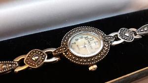 腕時計 ウォッチ ダパールヴィンテージクオーツコートダジュールorologio da polso donna acciaio madreperla quarzo vintage cote d'azur anni 90