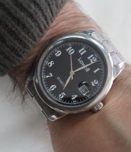 【送料無料】腕時計 ウォッチ クラシッククラウンスチールローウェルorologio steel lowell watch in acciaio classic uhr corona a vite wr 5o mt usato