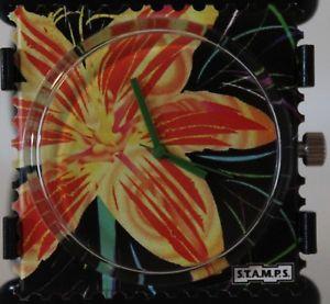 【送料無料】腕時計 ウォッチ エリアサニーフラワースタンプstamps esfera sunny flower 103570 stamps 5 atm resistentes al agua