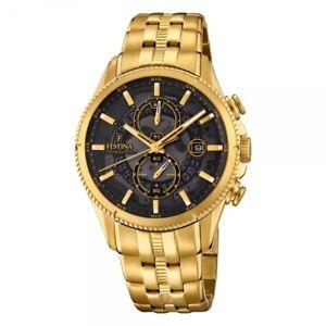 【送料無料】腕時計 ウォッチ ウォッチクロノグラフスポーツドラドfestina reloj hombre crongrafo sport f202693 dorado