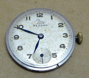 【送料無料】腕時計 ウォッチ ビンテージレコードナイツキャリバーcaballeros reloj de registro vintage movimiento, calibre 621, todo funciona bien
