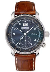 【送料無料】腕時計 ウォッチ ツェッペリンクロックマンロサンゼルスzeppelin reloj hombre lz126 los angeles 86443