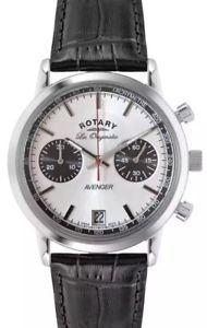 【送料無料】腕時計 ウォッチ ロータリースイスクロノグラフウォッチpara hombre rotary les originales vengador suizo crongrafo reloj gs9013006 nuevo