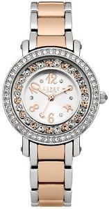 【送料無料】腕時計 ウォッチ ロンドンブレスレットレディースクロックトーングアーガムセットlipsy london lp179 conjunto de cristal pulsera reloj de seoras de tono 2 1 ao guar rrp 45