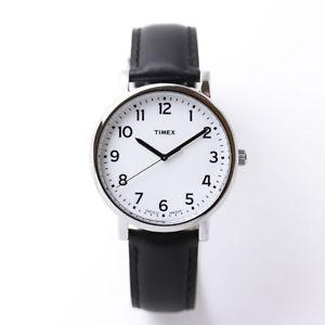 【送料無料】腕時計 ウォッチ オリジナルクラシックブラックホワイトドレスベルトアラームtimex originals t2n338 para hombre clsico negro esfera blanca correa vestido reloj