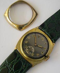 腕時計 ウォッチ ゴールドウォッチゴールドスイスkゴールドウォッチ9ct gold military watch ww2 1945 oro 9k reloj militar  swiss 9k gold watch