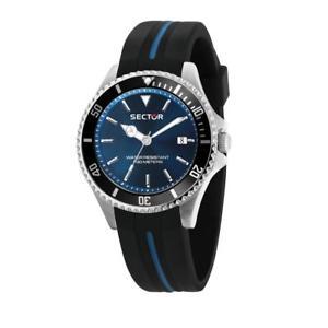 腕時計 ウォッチ テンポリリースネロセクタorologio tempo e data uomo sector 230 r3251161037 nero nuova collezione