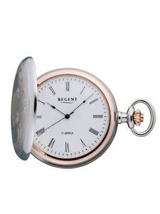 【送料無料】腕時計 ウォッチ リージェントポケットウォッチステンレススチールアナログregent reloj de bolsillo de acero inoxidable p321 analogico