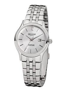 腕時計 ウォッチ リージェントシルバーステンレススチールアナログregent fantastico f798 analogico plata de acero inoxidable