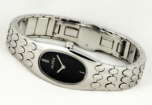 【送料無料】腕時計 ウォッチ レディスタイリッシュウォッチスイスステンレススチールovalados alfex seora elegante reloj swiss made completamente de acero inoxidable