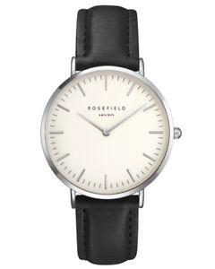 【送料無料】腕時計 ウォッチ バワリーブラックホワイトシルバーrosefield reloj de pulsera mujer bwbls b2 the bowery blanco negro plata