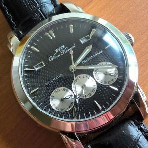 【送料無料】腕時計 ウォッチ スペシャルァージュエルブラッククロック oferta nueva para hombre 20 joya automtico vaan konrad calendarium reloj negro excession