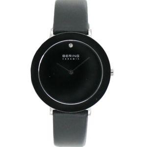 【送料無料】腕時計 ウォッチ ベーリングレディーススリムセラミックスbering reloj de pulsera seoras slim cermica 11435442 cuero