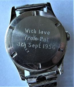 【送料無料】腕時計 ウォッチ マニュアルreloj de pulsera vintage 1956 peerex para hombre corre firmemente, no usado 30 aos