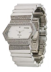 【送料無料】腕時計 ウォッチ パリブレスレットmoog paris montre femme avec cadran argent bracelet argent