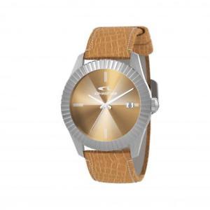 腕時計 ウォッチ ドナサインorologio donna chronotech sign rw0194 pelle marrone