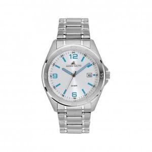 【送料無料】腕時計 ウォッチ アラームナイツステンレスバーadora nautic reloj an2964 caballeros reloj de pulsera 20bar impermeable de acero inoxidable