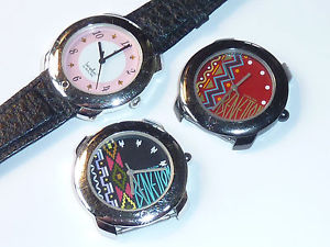 腕時計 ウォッチ ロットベネトンベゼルヴィンテージlot 3 watch montre benetton by bulova uhr bezel vintage