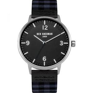 【送料無料】腕時計 ウォッチ ベンシャーマンギンガムreloj para hombres ben sherman portobello guinga negro wb062ue
