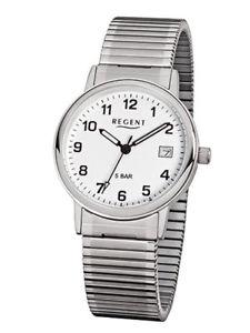 【送料無料】腕時計 ウォッチ クロックアナログステンレスシルバーregent reloj de hombre f705 anlogo acero inoxidable plata