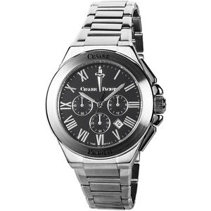 腕時計 ウォッチ チェーザレネロブラッククロノグラフ
