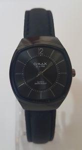 【送料無料】腕時計 ウォッチ スイスレディシングルreloj de seora negro tono omax sgl018 hecho en suiza