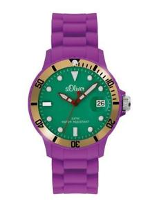 【送料無料】腕時計 ウォッチ オリバーアラームシリコンアナログリラs oliver special reloj so2154pq analogico silicona lila