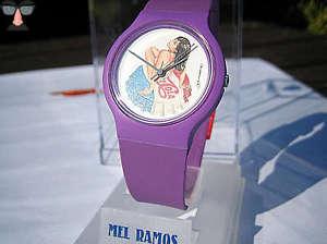 腕時計 ウォッチ ポップアートカオスクロックミスカオスメルエディションスイスcaos reloj de arte pop  1991  miss caos  mel ramosltd edition 1 nuevosuizoraro