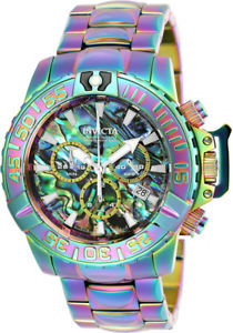 【送料無料】腕時計 ウォッチ クロノグラフトーンステンレススチールinvicta hombres subaqua crongrafo iridiscente tono reloj acero inoxidable 25179